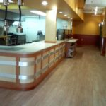food service sales transaction counters
