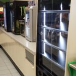Beverage Point of sale counters and cabinets