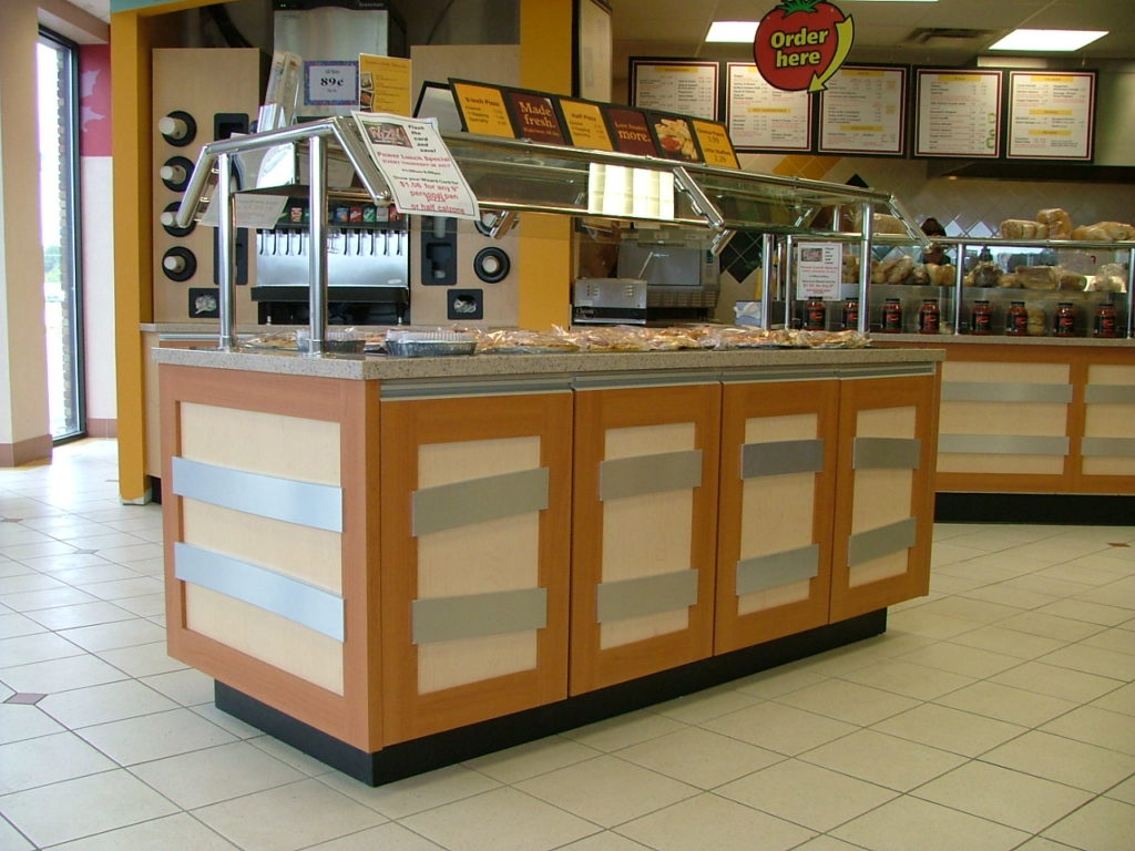 in-store food service station