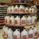 maple syrup point of sale display
