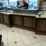 food and beverage counter