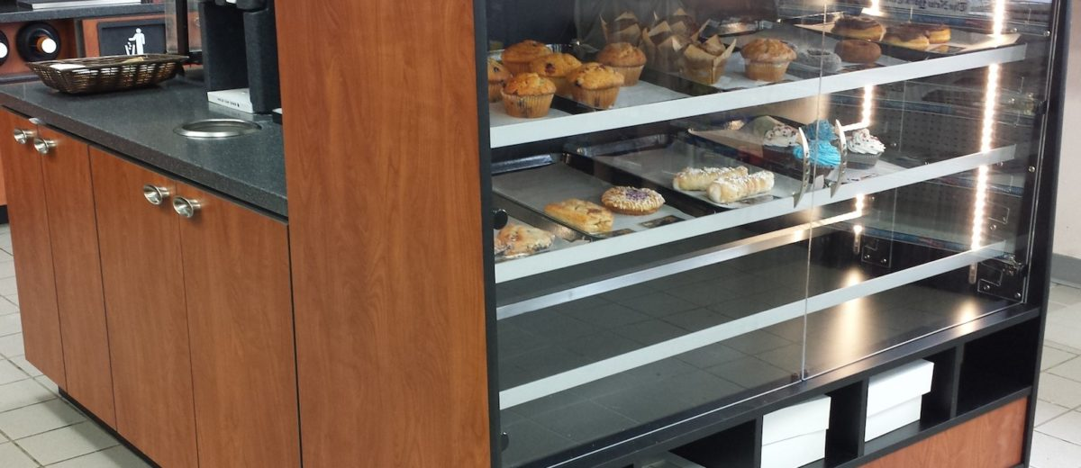 point of sale bakery case