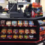 Point of sale candy rack