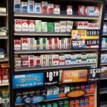 In-Store tobacco racks